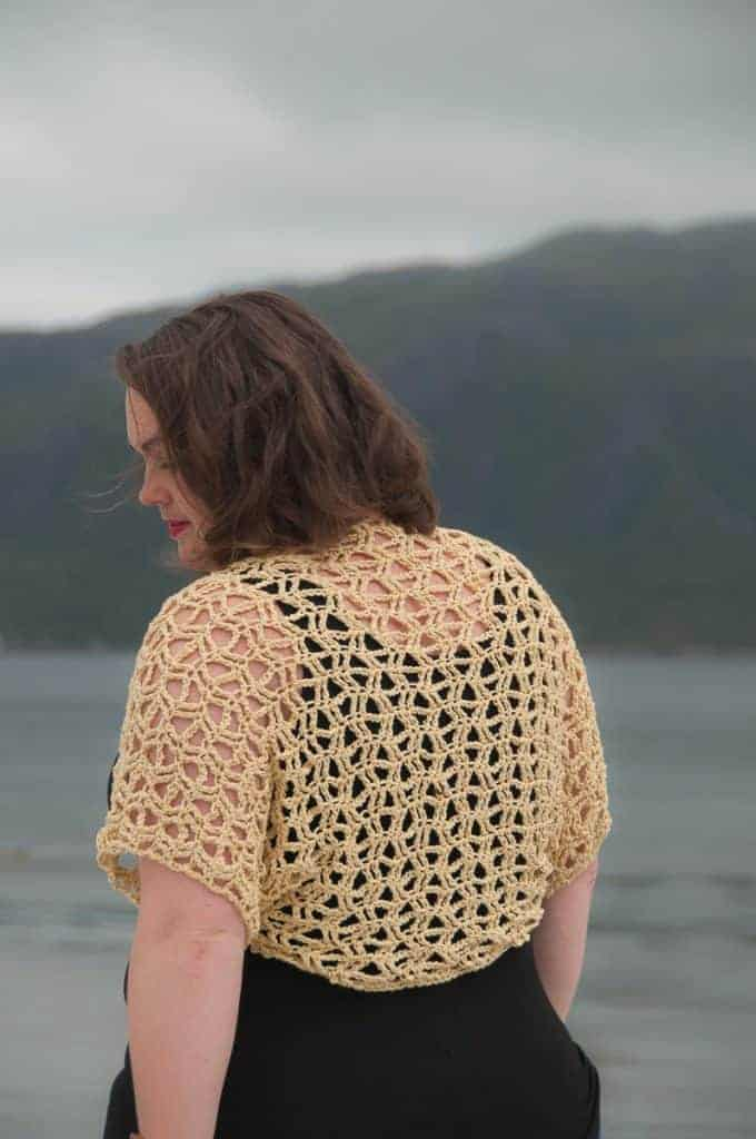 Crochet Sunny Bolero A Free Crochet Pattern Joy Of Motion