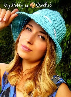 Crochet Sun Hats For Summer, let the sun shine crochet sun hat
