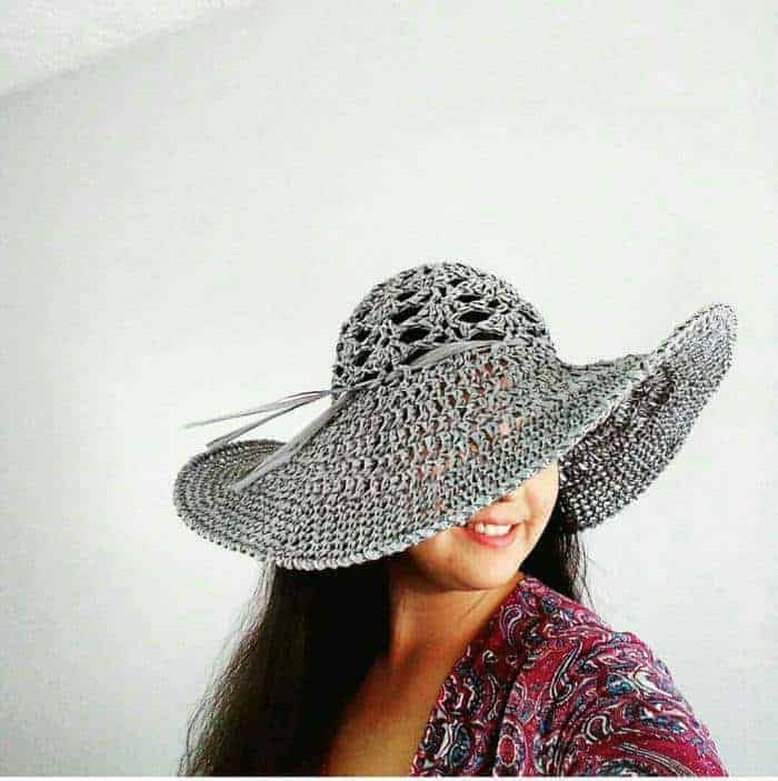 Crochet Sun Hats For Summer, the Salt Grass Hat for summer