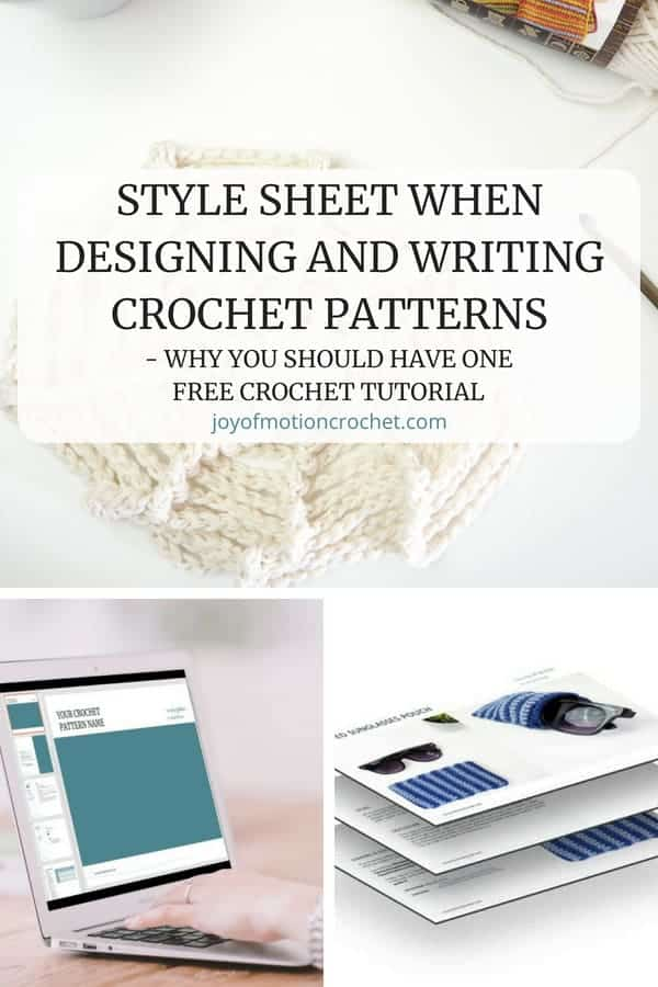 FREE crochet tutorial. Best tips about style sheet for crochet deign.  Style Sheet When Designing and Writing Crochet Patterns - Why You Should Have One. Tips and tricks for designing crochet patterns like a professional. How to get organized as a crochet pattern designer. #crochet #crochetpattern #crocheting #stylesheetcrochet
