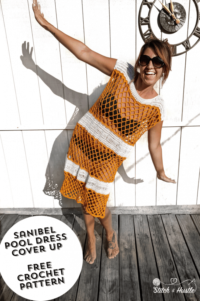 Summer Crochet Dresses and Tunics, Sandibel Pool Dress Cover Up