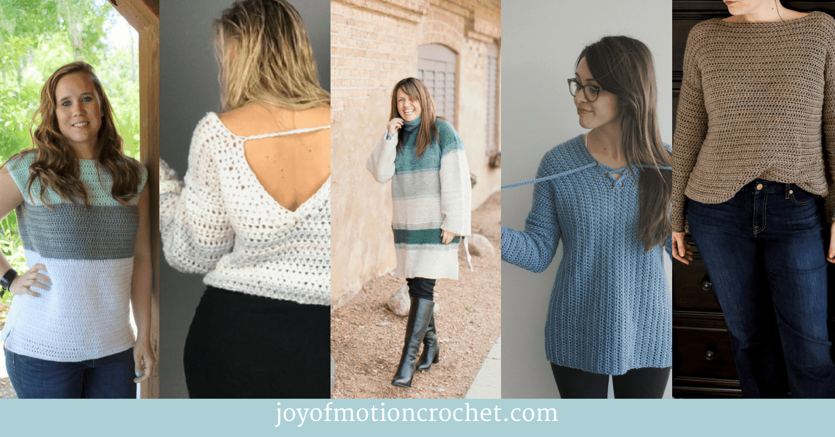 8 Great Crochet Sweaters You'll Love, great crochet sweaters collage