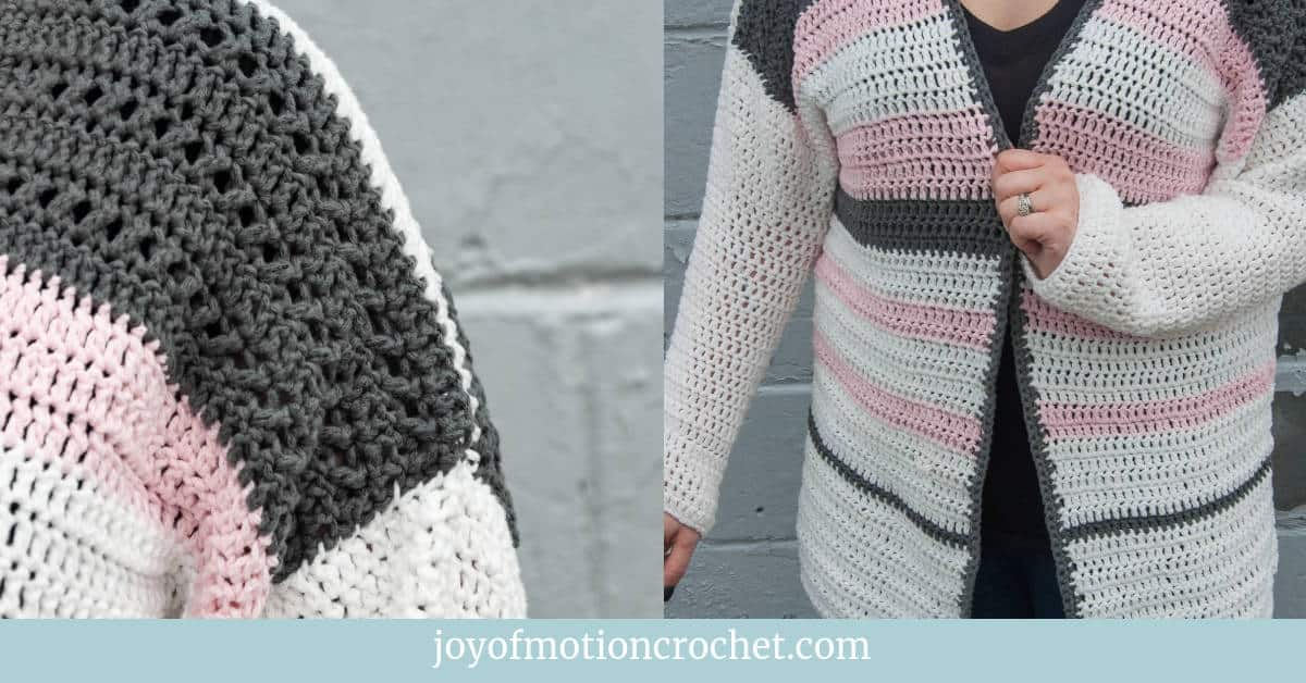 creation cardigan - free crochet pattern