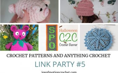 Crochet Patterns and Anything Crochet Link Party #5