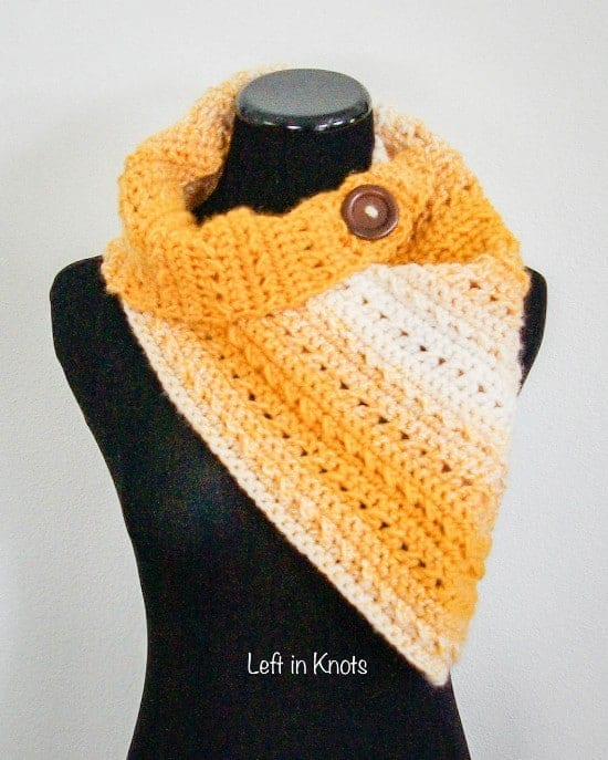 great crochet shawls and scarfs , yellow