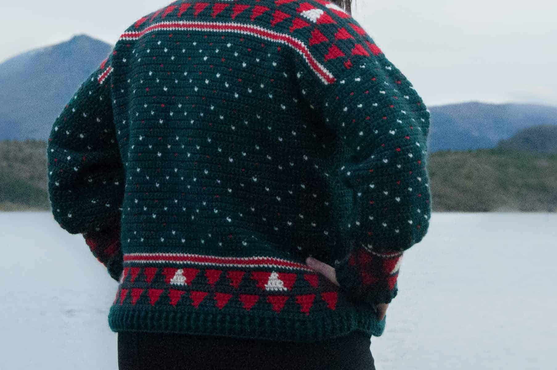 Ugly Christmas Sweaters Patterns.Alpaca My Holiday Sweater Crochet Pattern