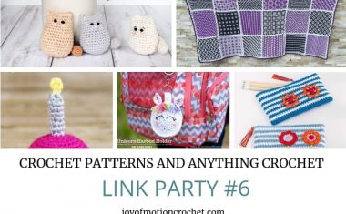 Crochet Patterns and Anything Crochet Link Party #6
