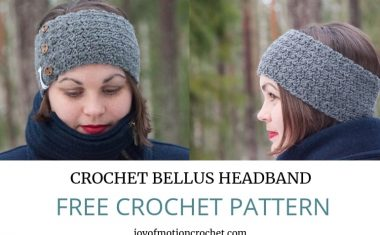 Crochet Bellus Headband – FREE Crochet Pattern