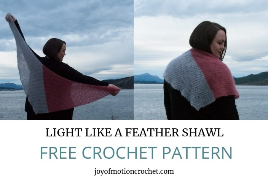 Light Like a Feather Shawl – FREE Crochet Pattern
