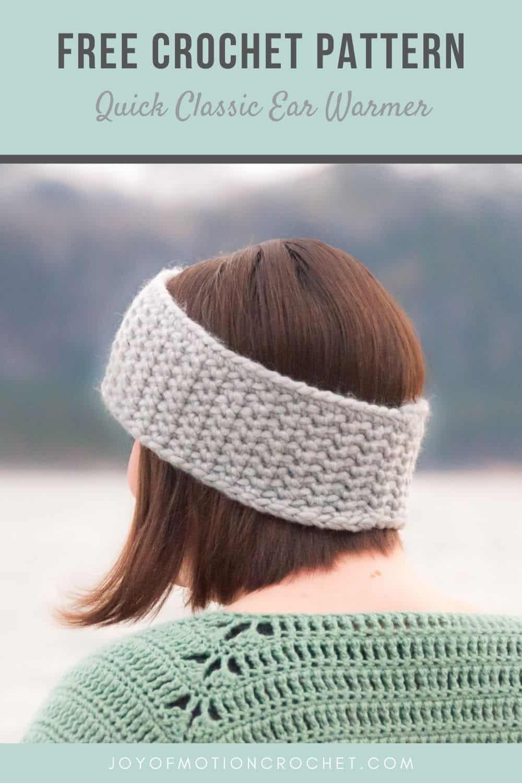 Crochet Quick Classic Ear Warmer - FREE Crochet Pattern
