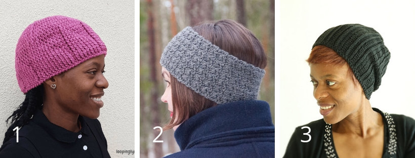 Retro Girl HDC Earwarmer