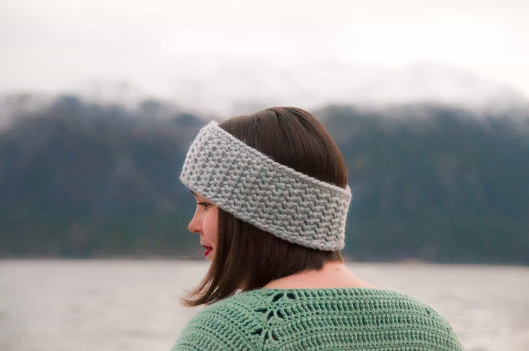 Quick Classic Ear Warmer Crochet Pattern Joy Of Motion
