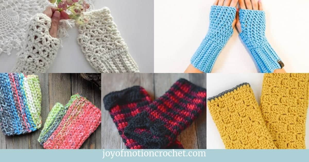 9 beautiful fingerless gloves crochet patterns (1)