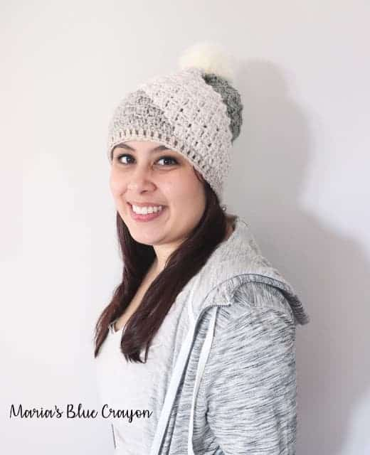 Don't Be A Square Beanie - Free Crochet Hat Pattern