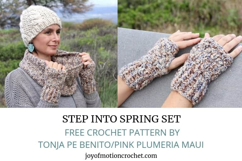 Step Into Spring Set – FREE Crochet Patterns