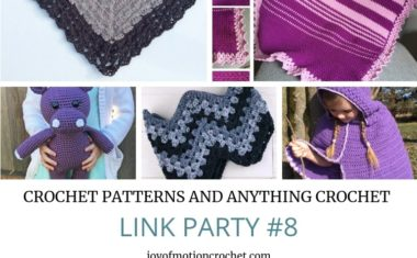 Crochet Patterns and Anything Crochet Link Party #8