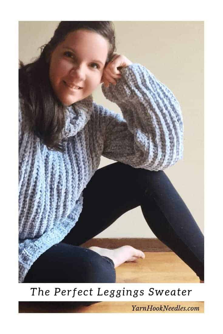 Make Your Very Own Velvet Sweater With This Crochet Pattern and Video!