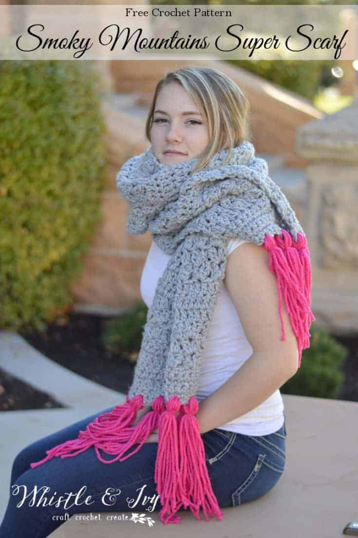 Smoky Mountain Super Scarf - Whistle and Ivy