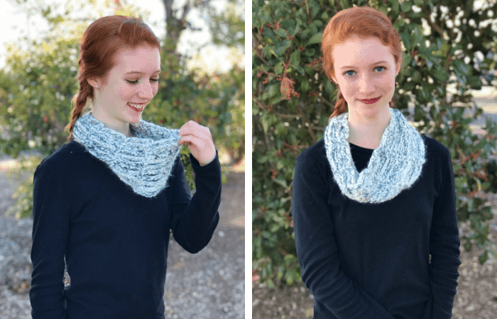 Wintergreen Cowl—Free Crochet Pattern