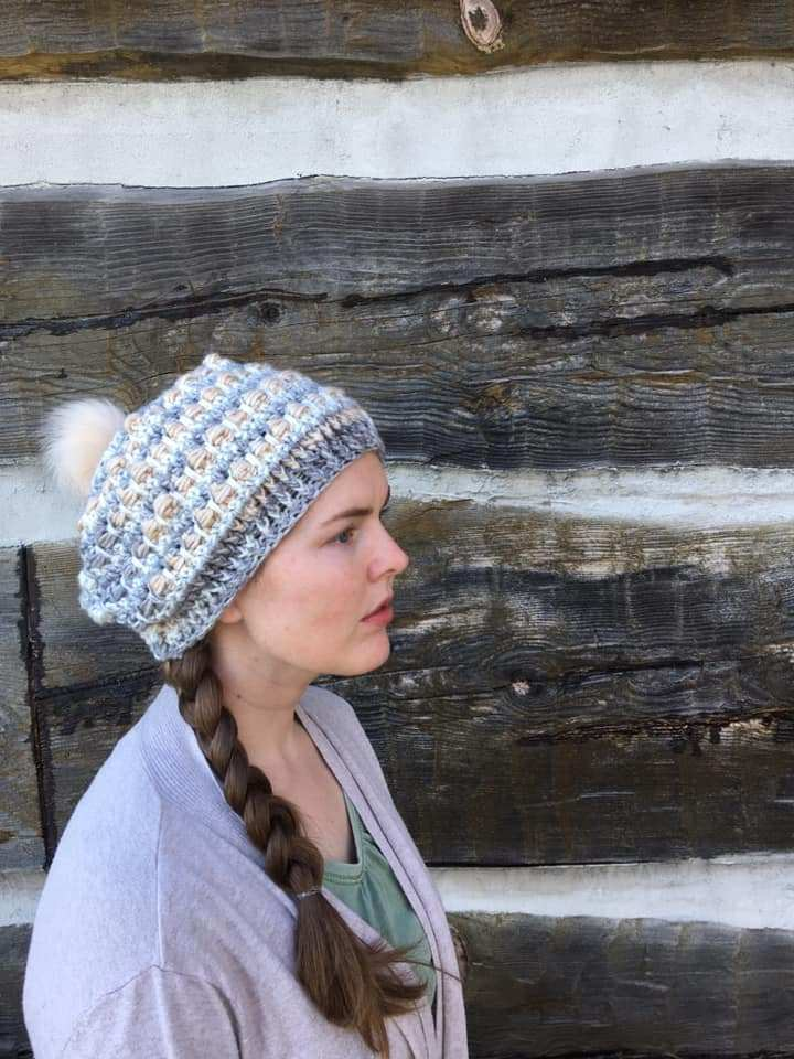 Slouchy Bead Hat