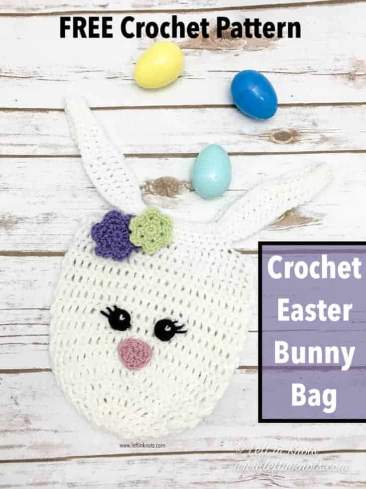 Crochet Mini Bunny Bag - a Free Easter Crochet Pattern