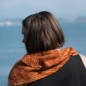 autumn leaves shawl free crochet pattern