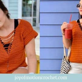 Sunray Summer Tee Free Crochet Pattern
