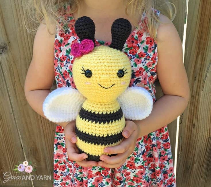 Free Crochet Bee Pattern