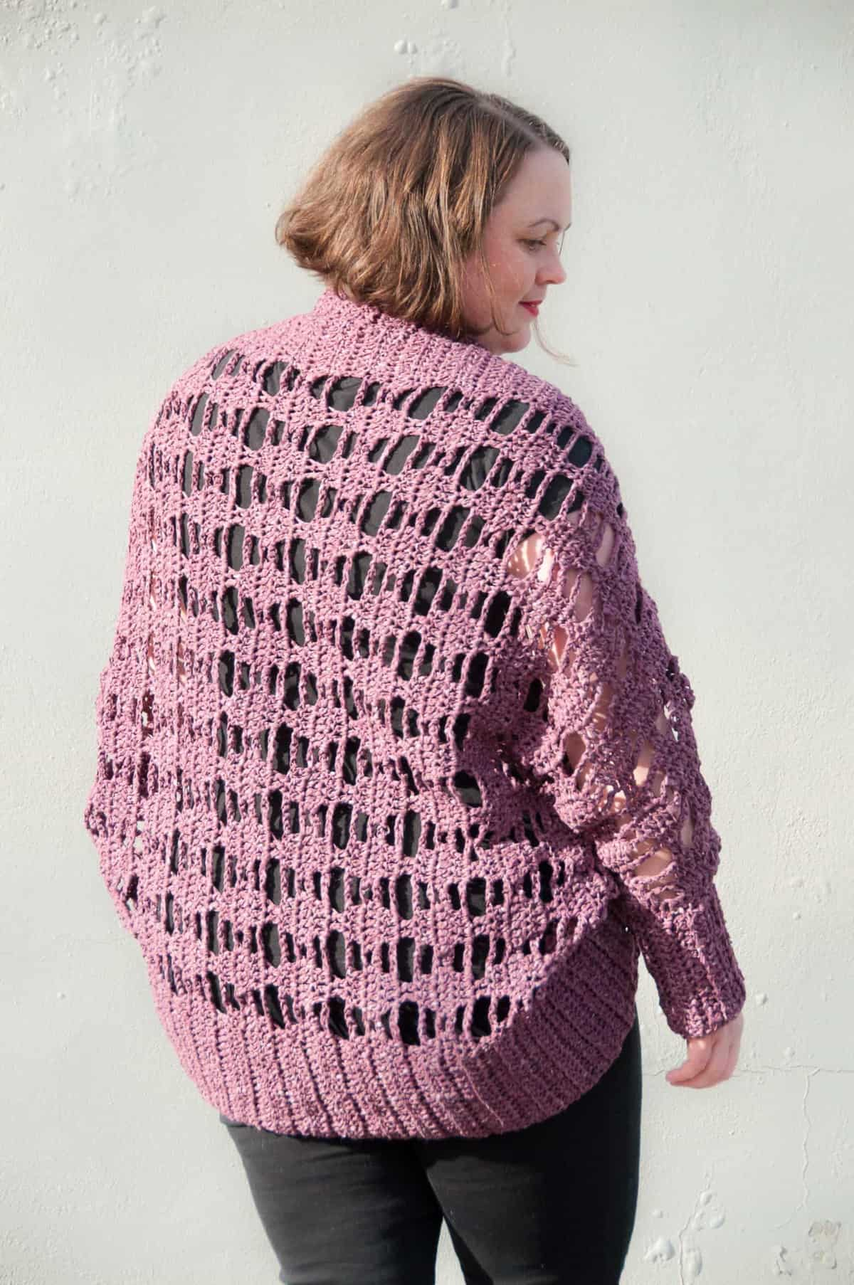 Aprilis Lace Shrug Crochet Pattern Joy Of Motion
