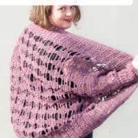 aprilis lace shrug free crochet pattern