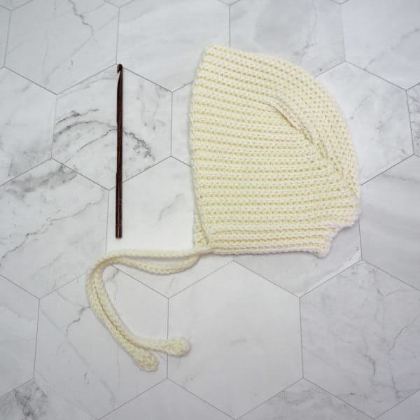 crochet cute baby bonnet free crochet pattern