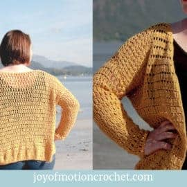 crochet summer cardigan - free crochet pattern (1)