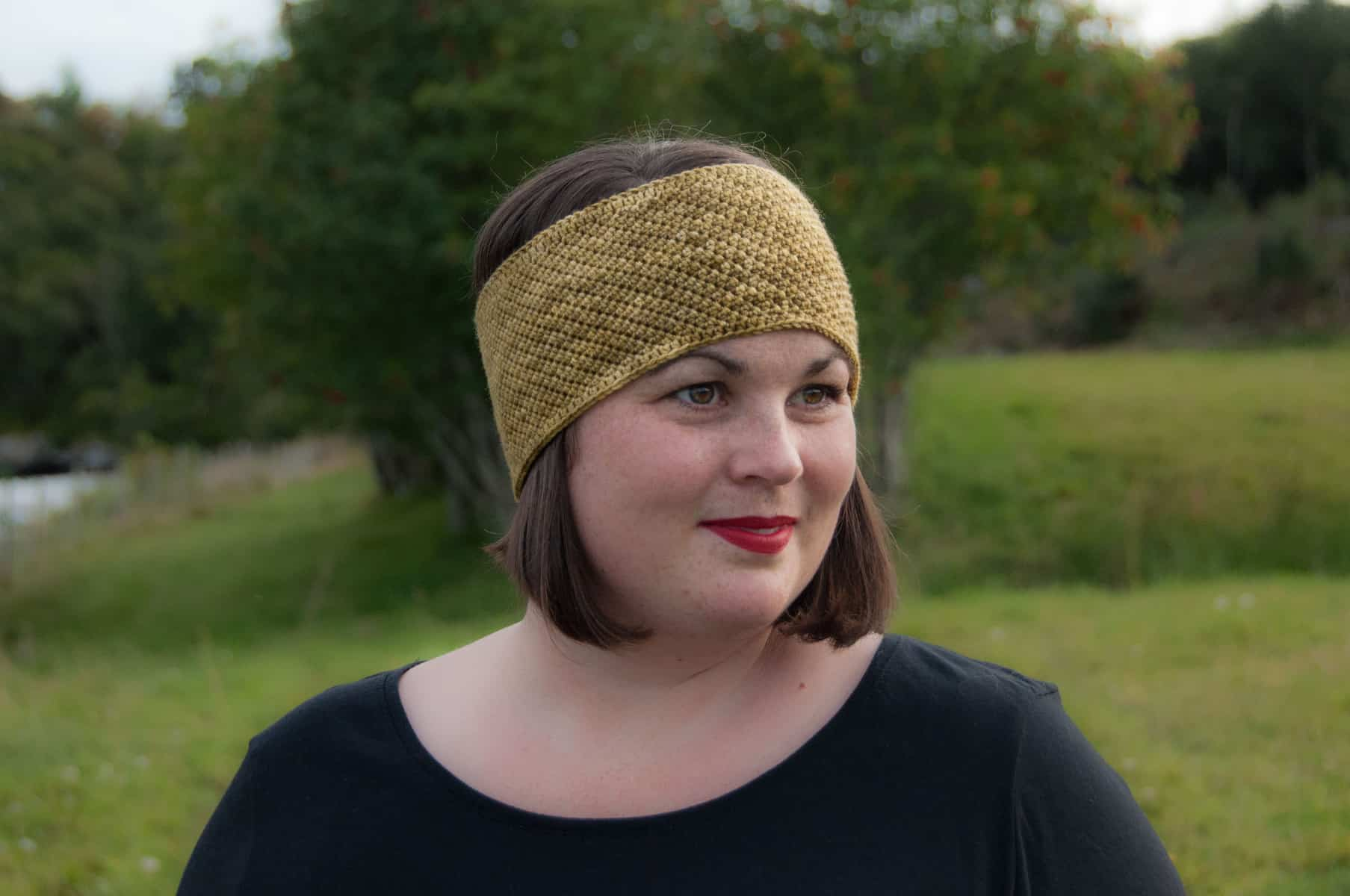 Lux Headband by Janne @ Joy of Motion Crochet