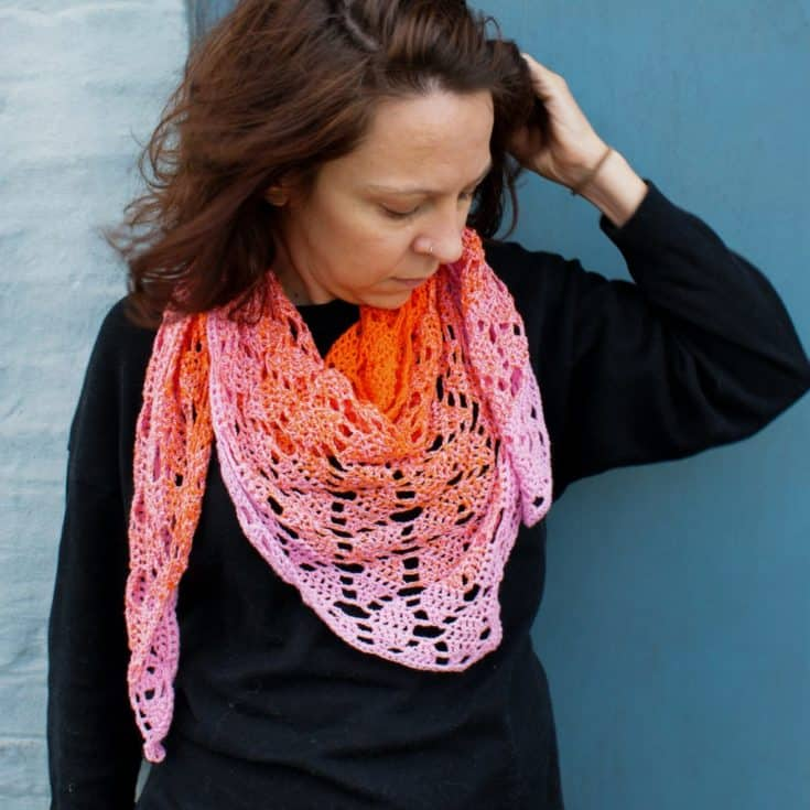 Perceptions - Free Crochet Scarf Pattern