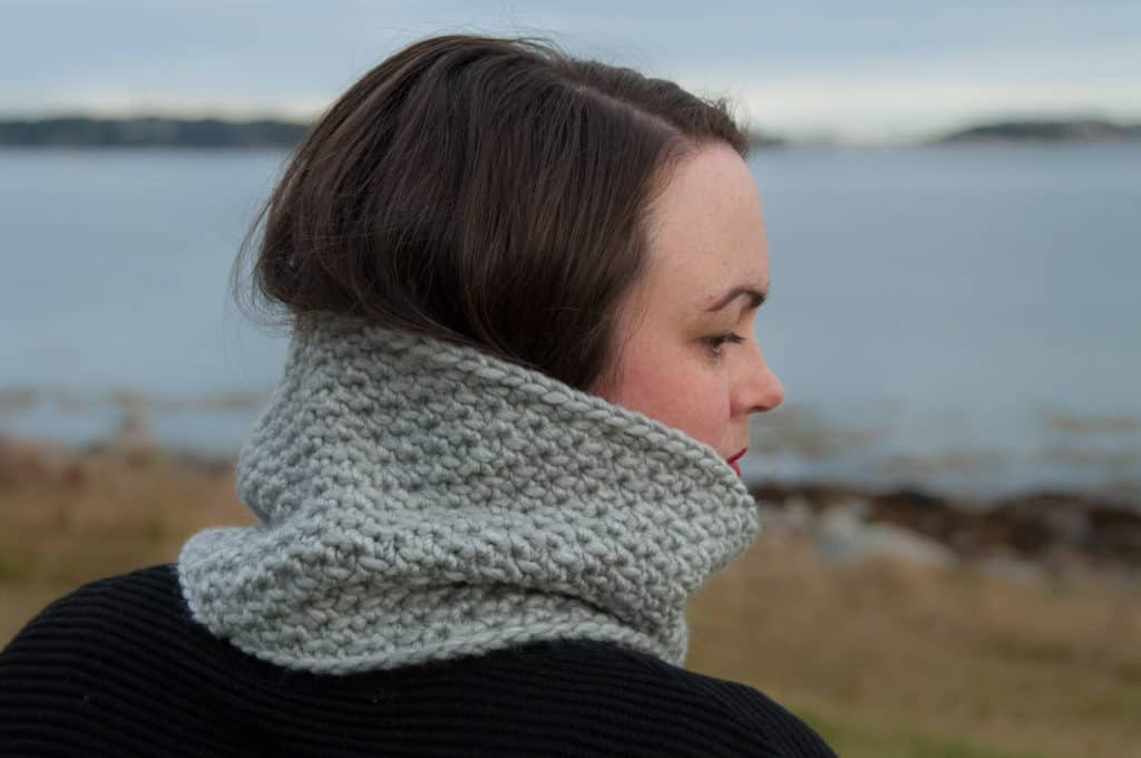 Quick Easy Textured Cowl by Janne @ Joy of Motion