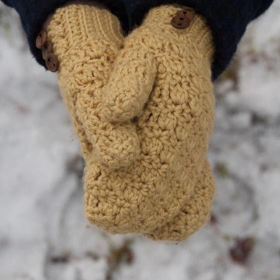 Crochet Bellus Mittens - FREE Crochet Pattern