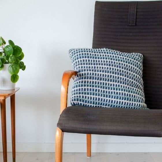 Spikes and Stripes Pillow Cover - FREE Crochet Pattern